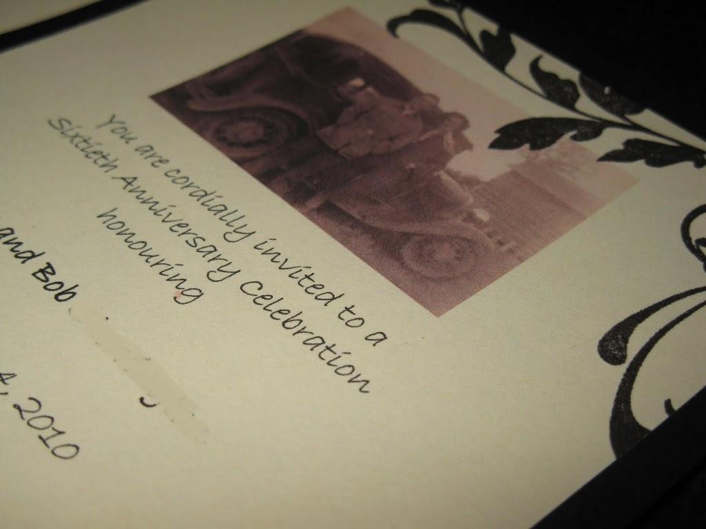 Wedding Anniversay Invitation