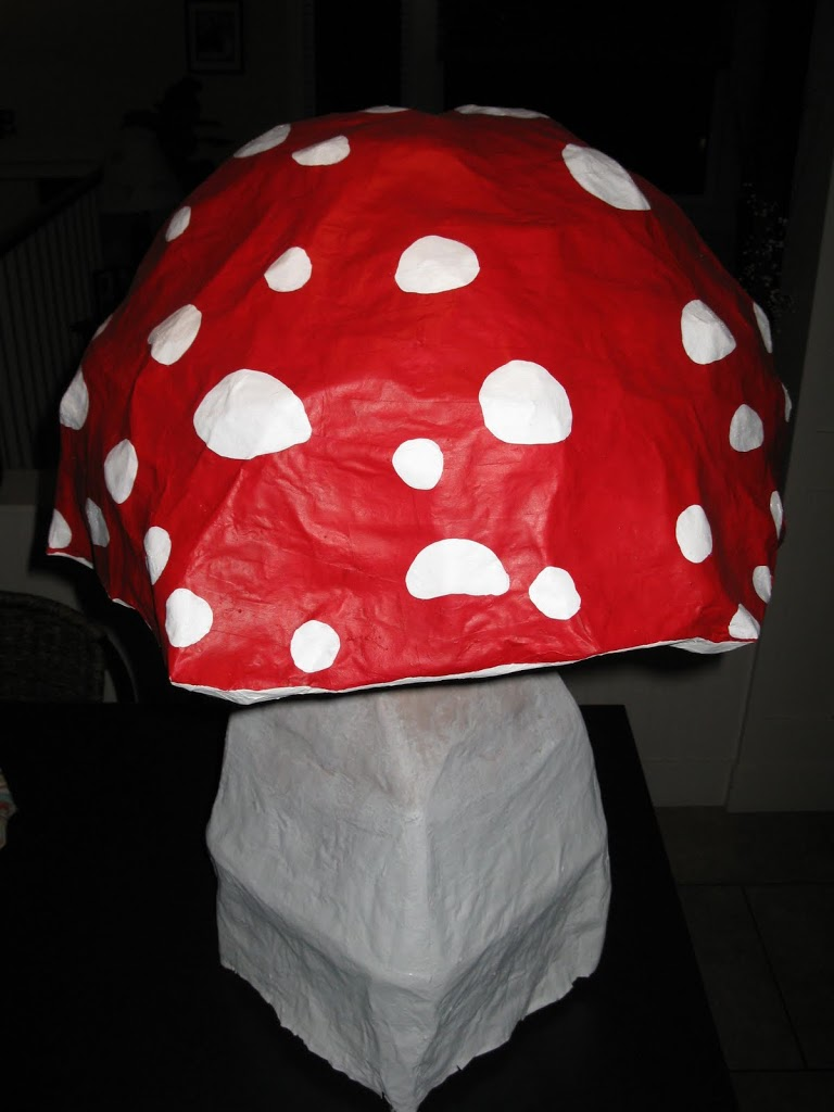 DIY Toad Stool Tutorial