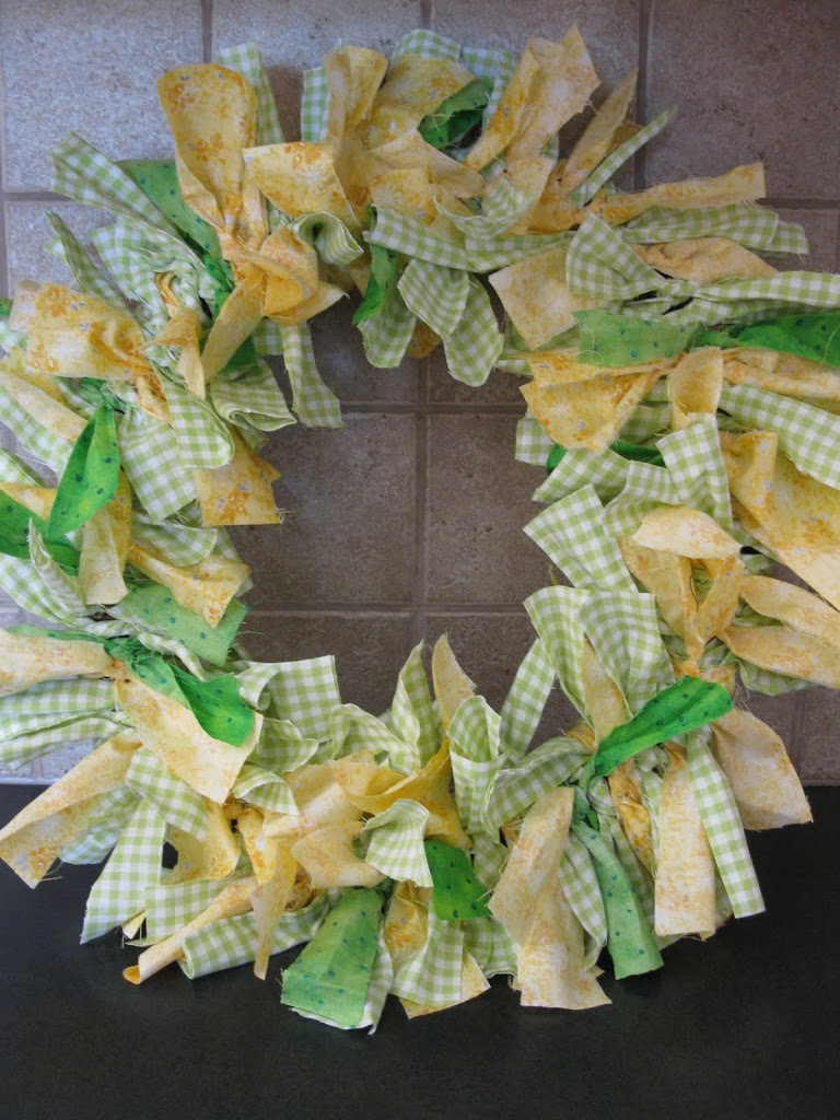Sewing – Spring Rag Wreath