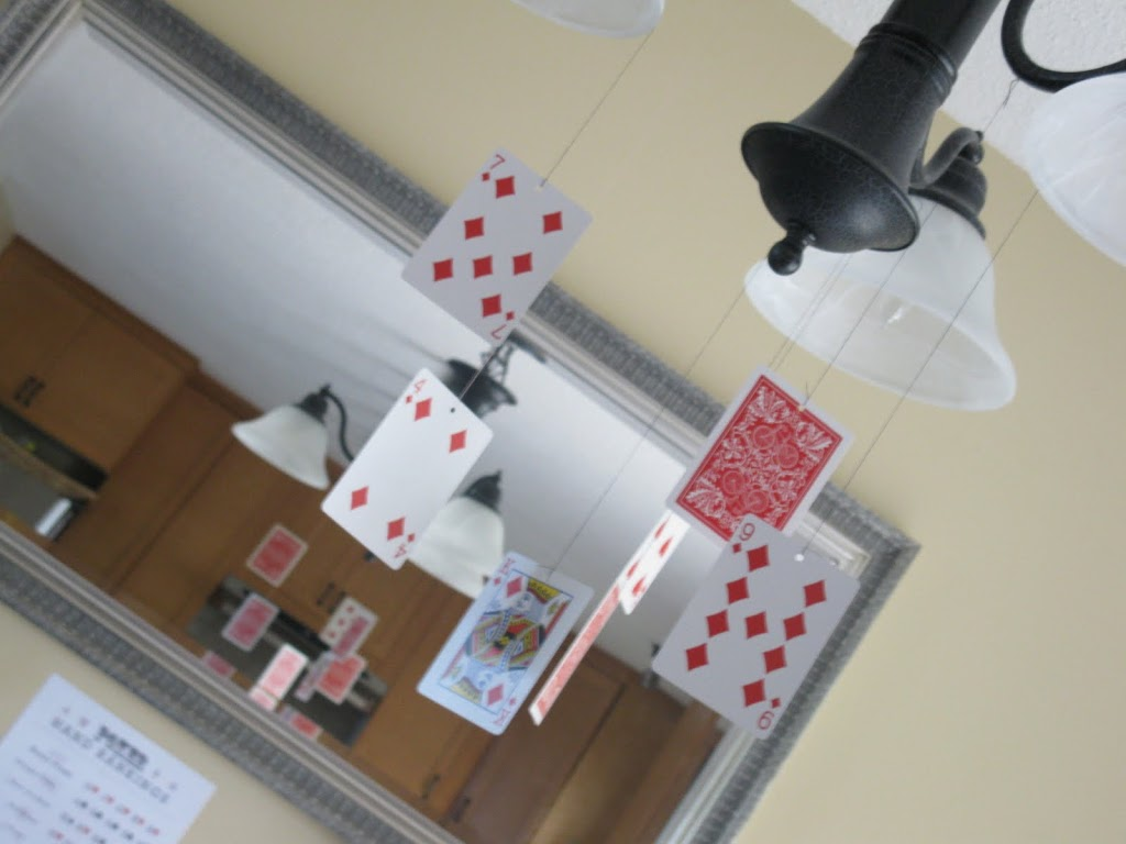Poker Night Birthday Party – Decorations