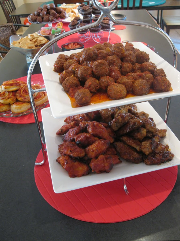 Poker Night Birthday Party – Appetizers