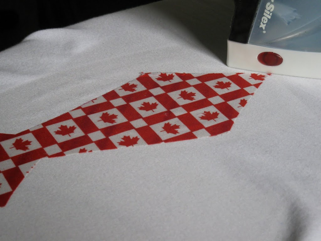 Sewing – Canada Day T-Shirts