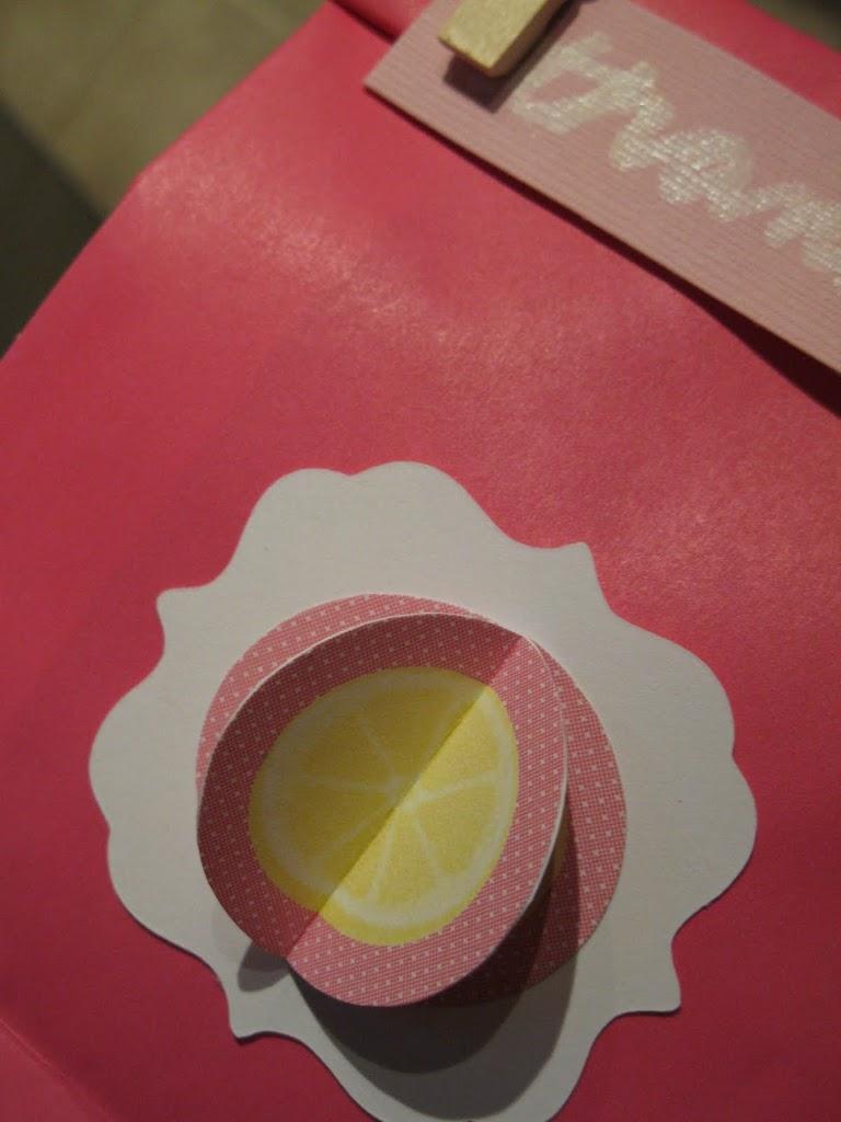 Pink Lemonade Party Favours