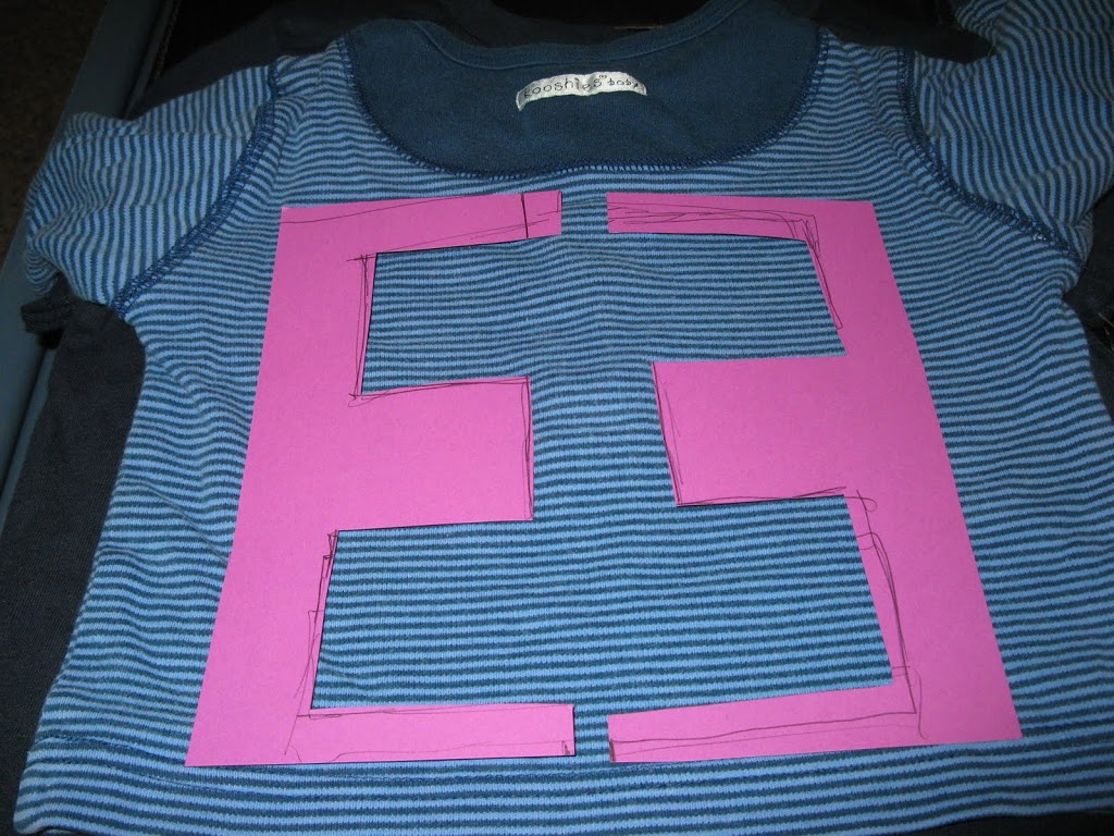 Monogram T-shirt Tutorial