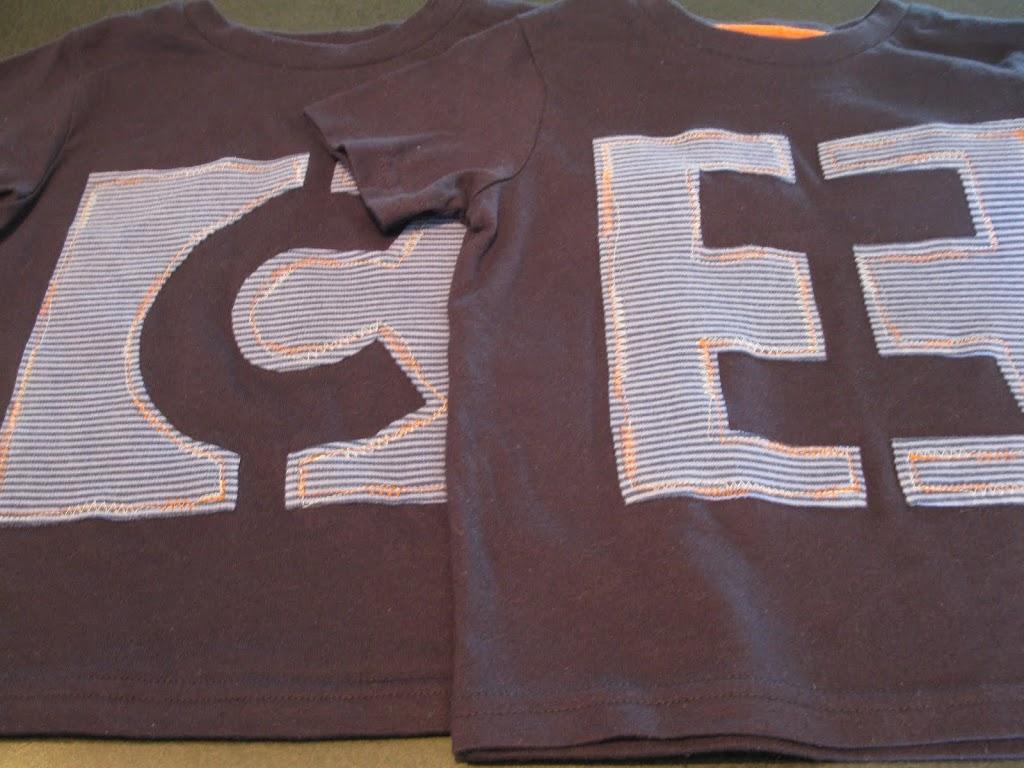 Monogram T-shirt Tutorial