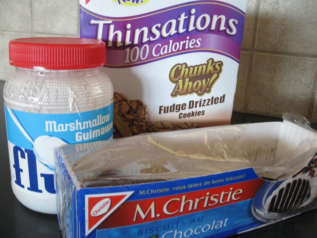 Chocolate Chip Oreo Icecream Sandwiches