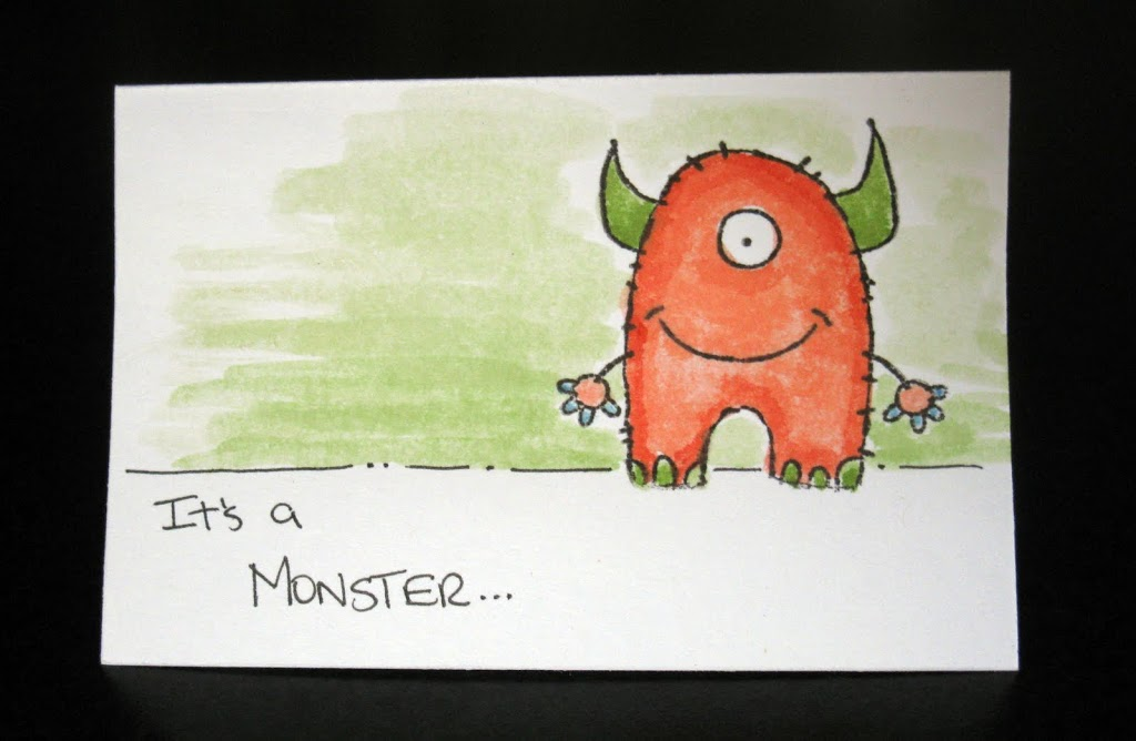 Monster Party Invitations – Part I