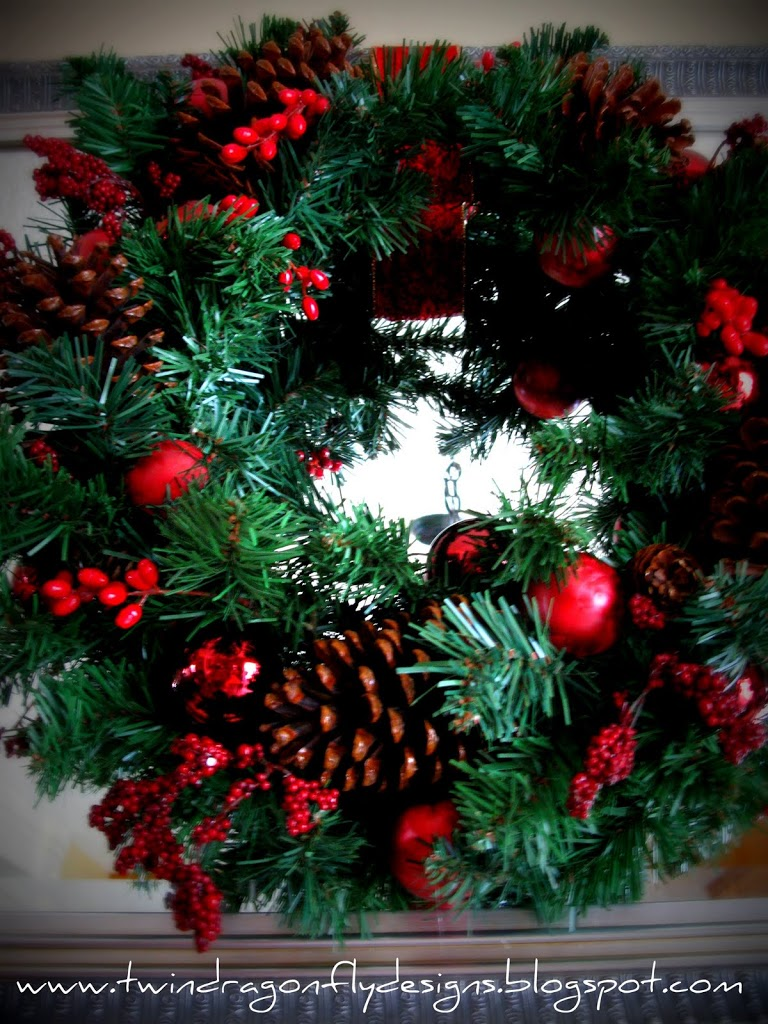 Upcycled Holiday Wreath
