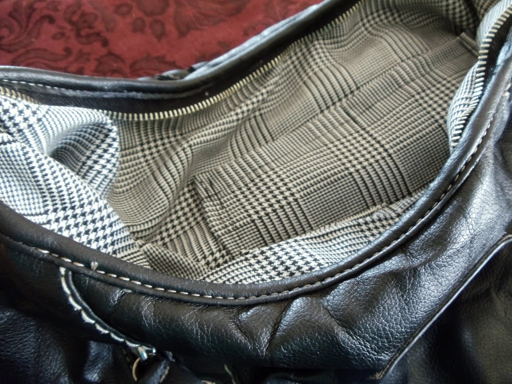 Sewing ~ New Life for a Guess Purse