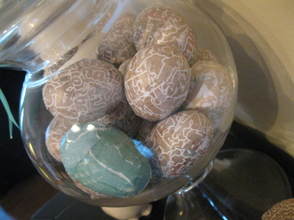 Decoupage Egg Tutorial