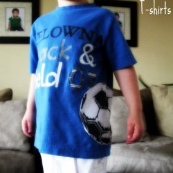 Soccer T-shirts {twin twist}