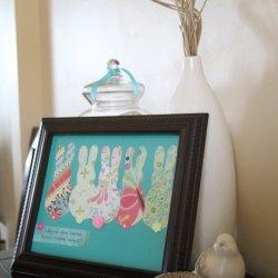 Easter Bunny Artwork