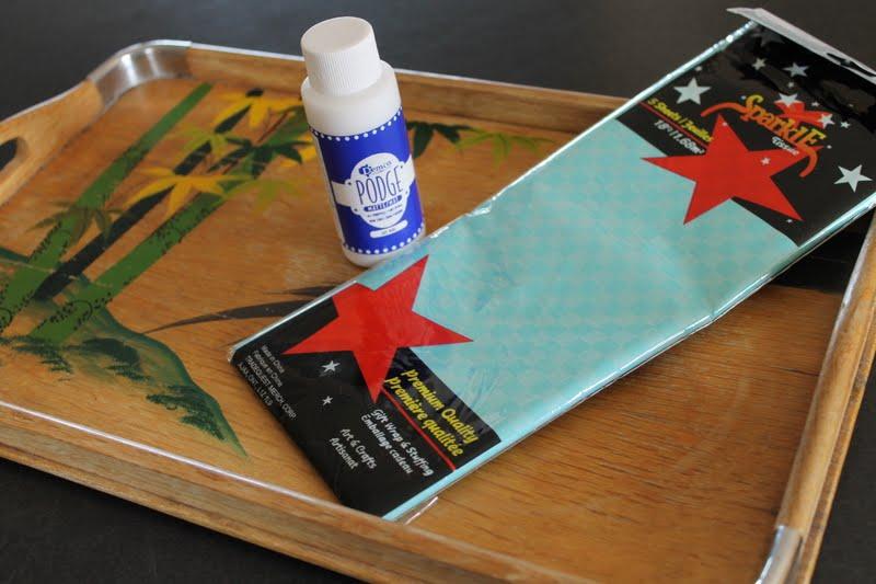 Summer Tea Tray » Dragonfly Designs
