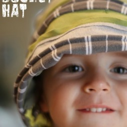 Upcycled Bucket Hat