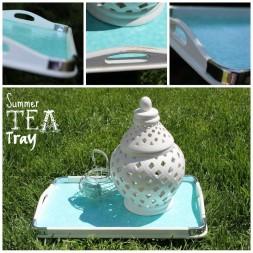 Summer Tea Tray