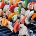 BBQ Shrimp Skewers