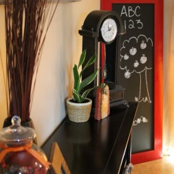 Jumbo Framed Chalkboard Tutorial