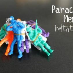 Parachute Men Invitations