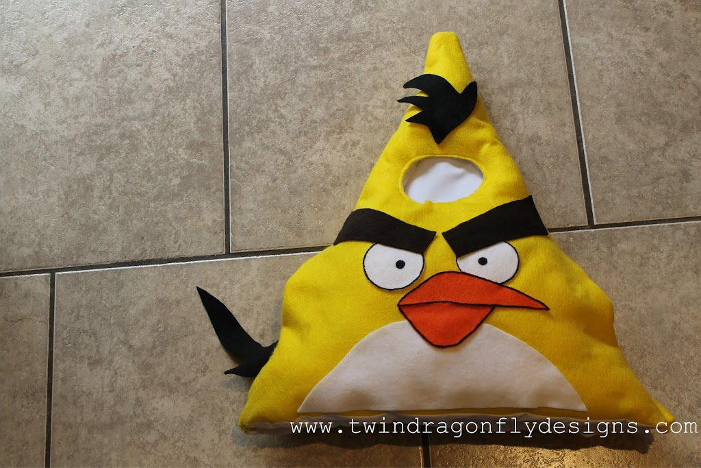 ANGRY BIRDS ~ Costume Tutorial and Patterns
