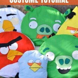 angry birds costume tutorial