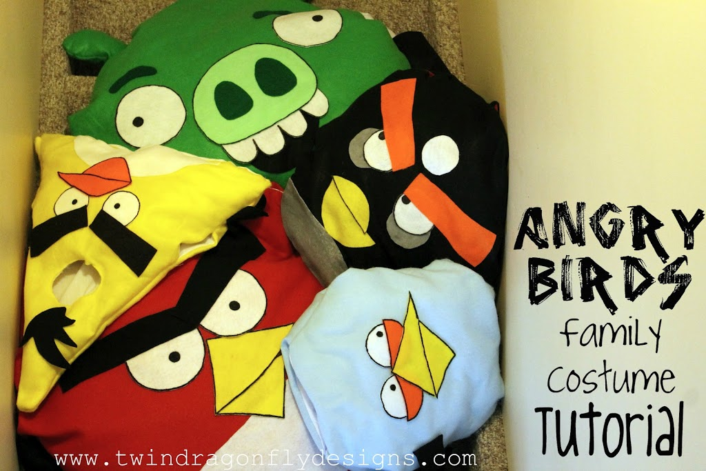 Angry Birds Costume Tutorial and Pattern