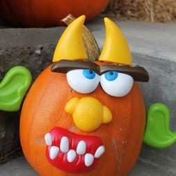 Mr. Potato Head Pumpkins