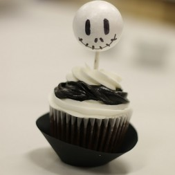 Teaching & a Jack Skellington Cupcake