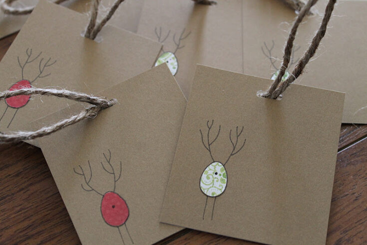 Scrappy Gift Tags » Homemade Heather