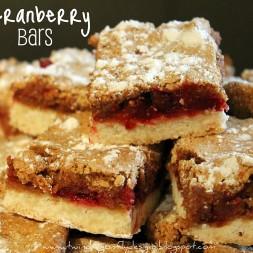 Cranberry Bars