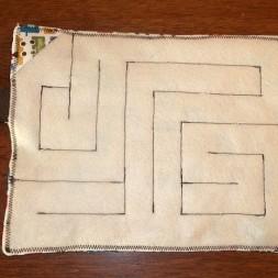 Fabric Maze {from Carlee @ Ladybird Ln}