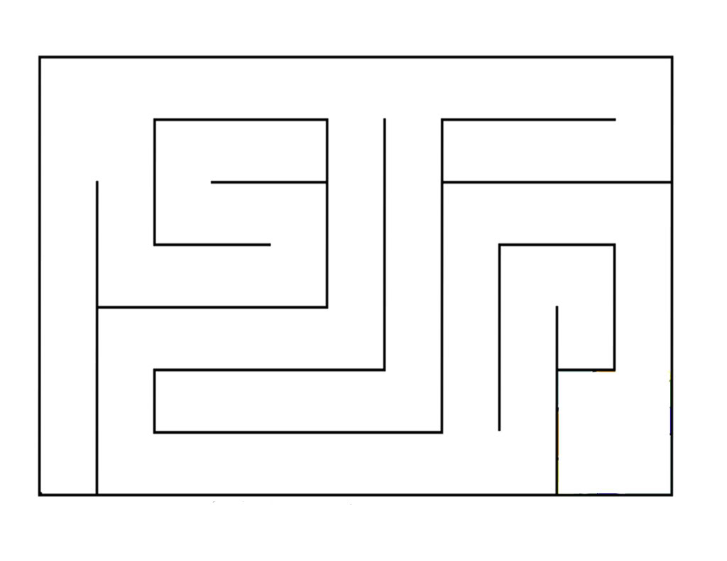 Simple Printable Maze Wwwgalleryhipcom The Hippest Pics