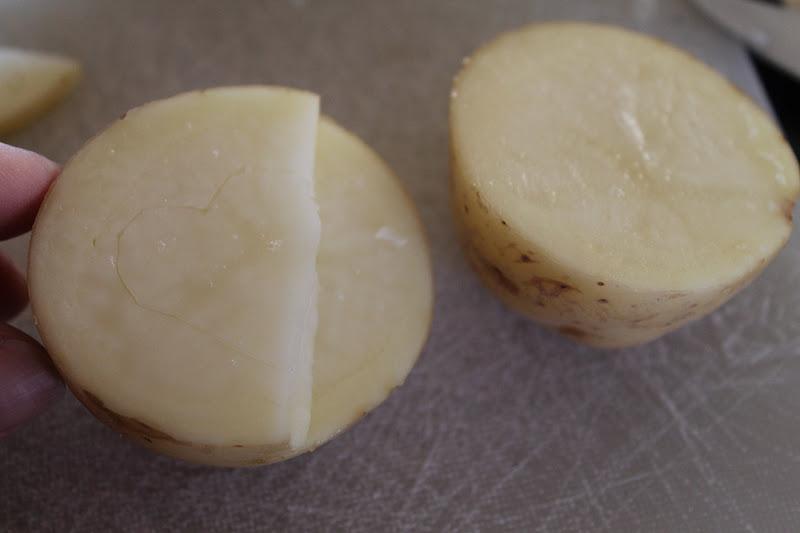 Valentine Potato Stamps