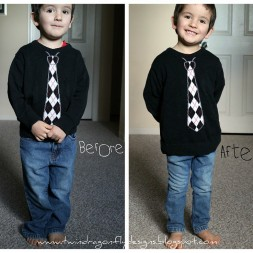 Skinny Jeans {for BOYS} Tutorial