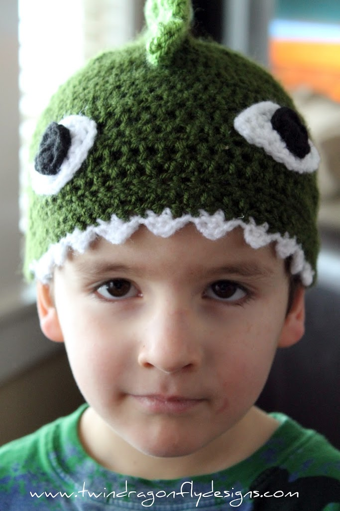 Crochet Dragon Hat Dragonfly Designs
