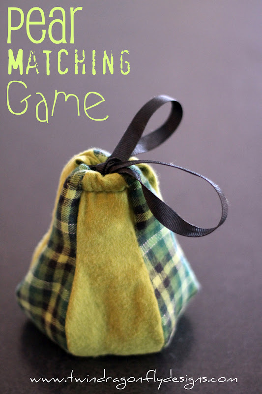 One For The Boys ~ Pear Matching Game