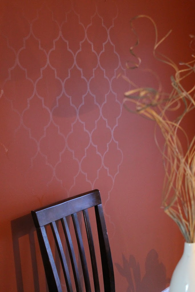 Diy Quatrefoil Wall Stencil Dragonfly Designs