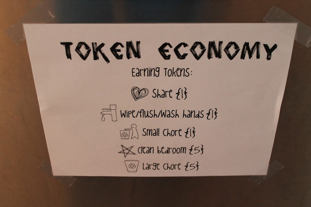 Token Economy {a behaviour modification program for kids}