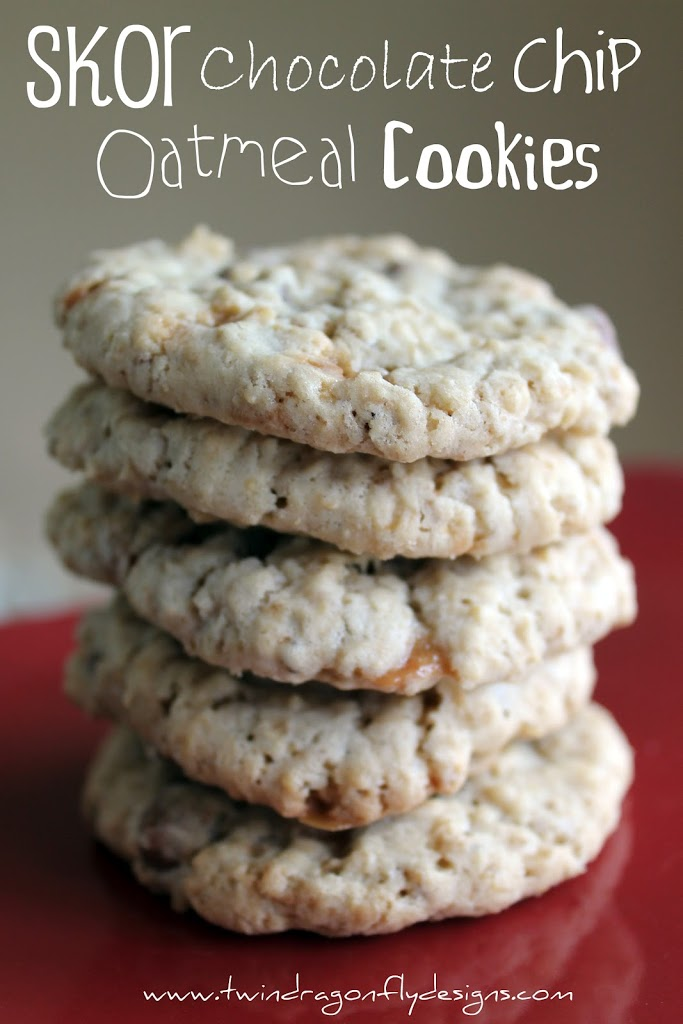 Skor Chocolate Chip Oatmeal Cookie