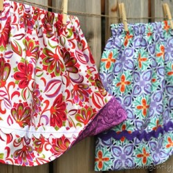 Simple Reversible Skirt