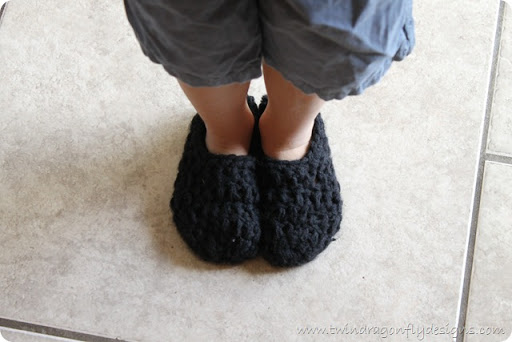 Crochet Slippers Pattern