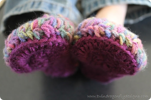 Crochet Slippers ~ Part One