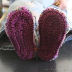 Crochet Slippers ~ Part One