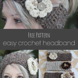 easy crochet headband pattern