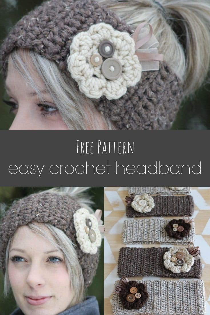Crochet Headband Tutorial