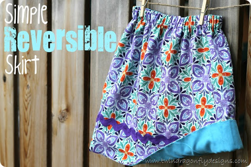 Simple Reversible Skirt