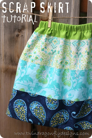Scrap Skirt Tutorial