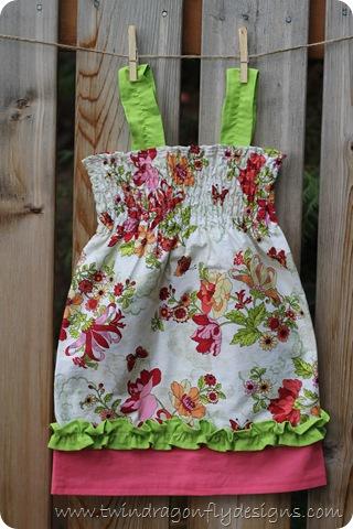 Shirred Summer Dresses