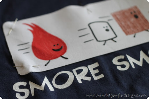 S'more Smores T-shirt Tutorial