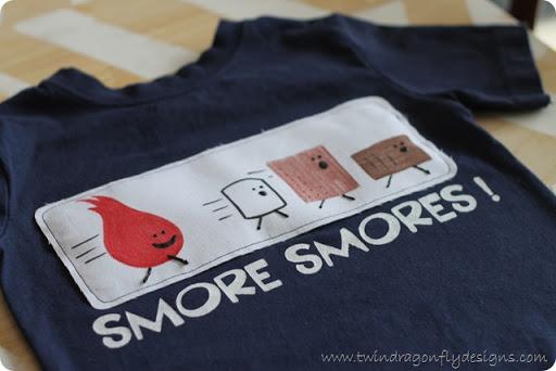 smores t-shirt