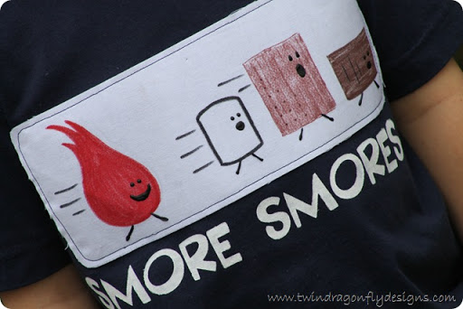 s'more t-shirt